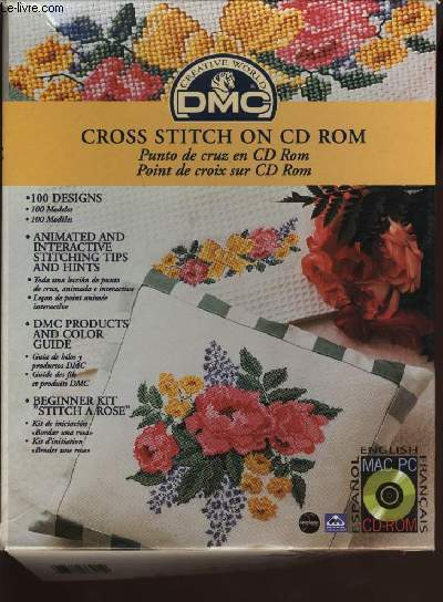 CROSS STITCH ON CD ROM / POINT DE CROIX SUR CD ROM