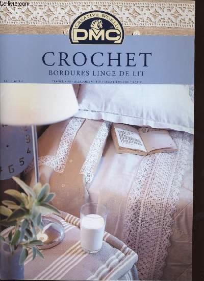 Crochet bordures linge de lit