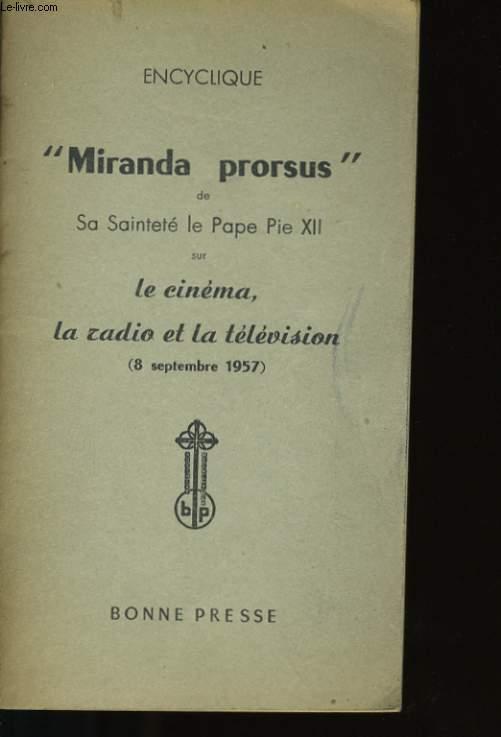 MIRANDA PRORSUS.