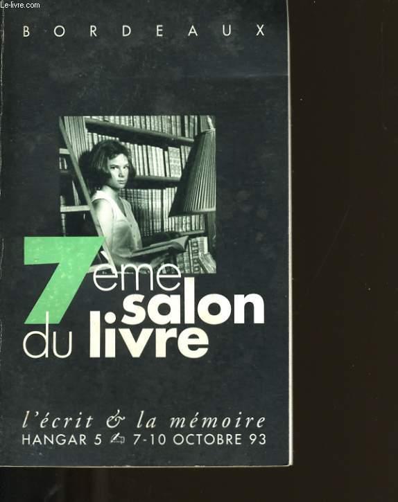 7ème SALON DU LIVRE.