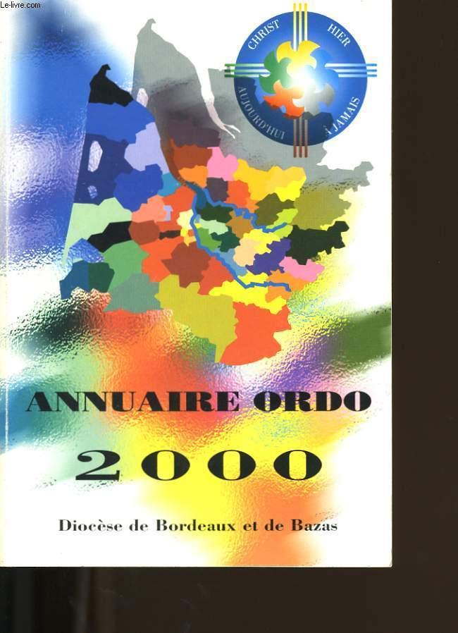 ANNUAIRE ORDO 2000.