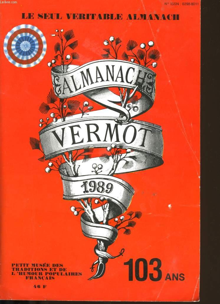ALMANACH VERMOT 1989 N°99.