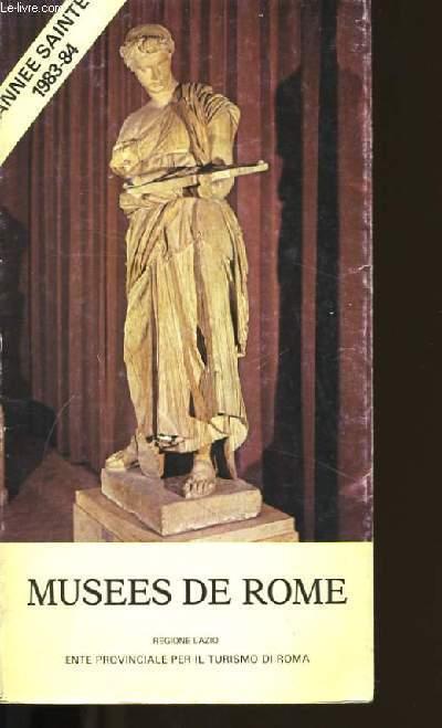 MUSEES DE ROME.
