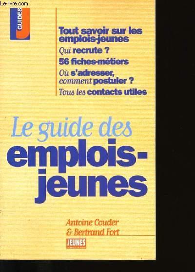 LE GUIDE DES EMPLOIS-JEUNES.