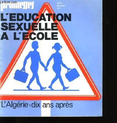 L'EDUCATION SEXUELLE A L'ECOLE N° 77.