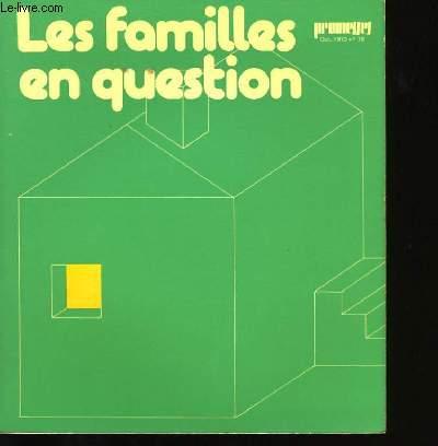 LES FAMILLES EN QUESTION N°79.