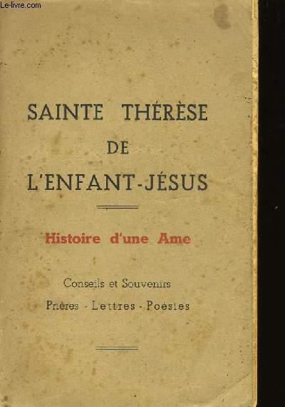 SAINTE THERESE DE L'ENFANT - JESUS.