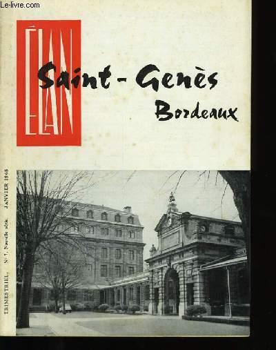 ELAN SAINT-GENES BORDEAUX. N°7 .