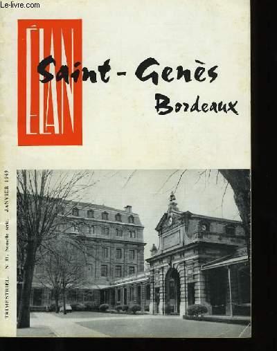 ELAN SAINT-GENES BORDEAUX. N°11.