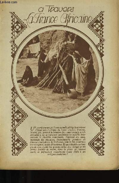 A TRAVERS LA FRANCE AFRICAINE.