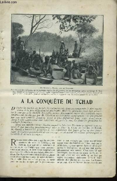 A LA CONQUETE DU TCHAD.