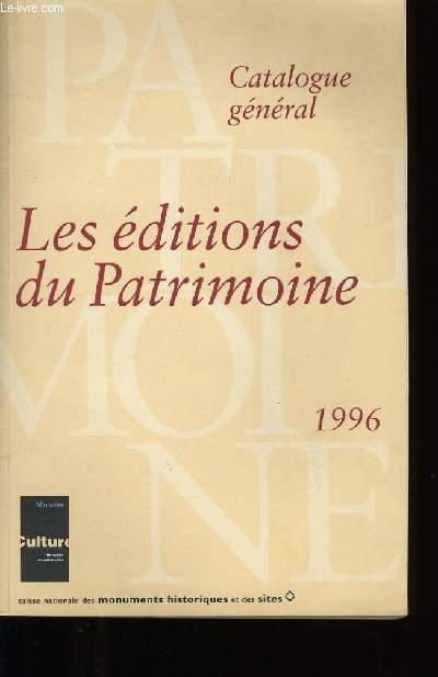 LES EDITIONS DU PATRIMOINE.