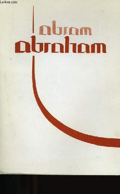ABRAM ABRAHAM.