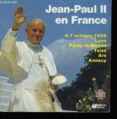 JEAN-PAUL II EN FRANCE.