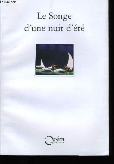 LE SONGE D'UNE NUIT D'ETE.