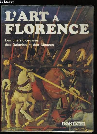L'ART DE FLORENCE.