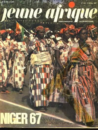 JEUNE AFRIQUE. NIGER 67. N°326.