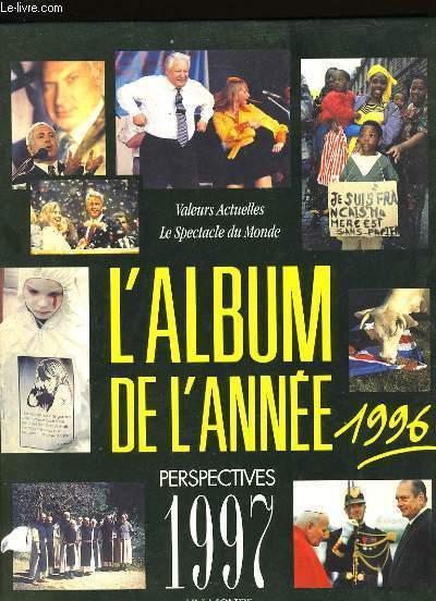 L'ALBUM DE L'ANNEE 1996