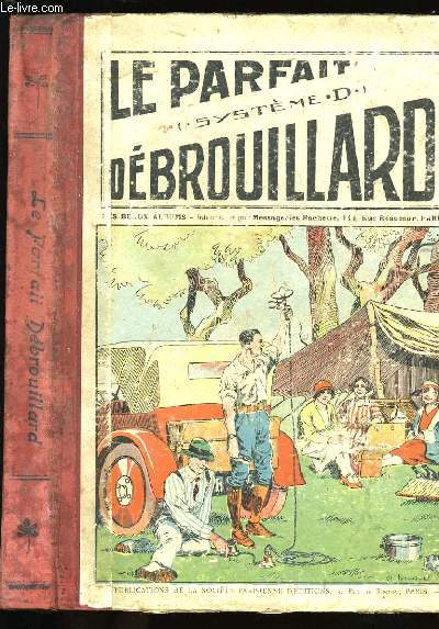 SYSTEME D. JOURNAL HEBDOMADAIRE ILLUSTRE DU DEBROUILLARD. N°183.