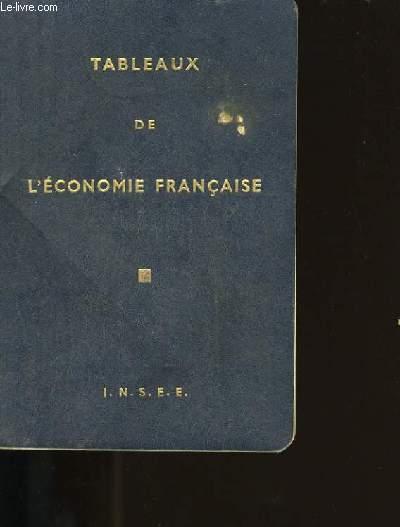 TABLEAUX DE L'ECONOMIE FRANCAISE.
