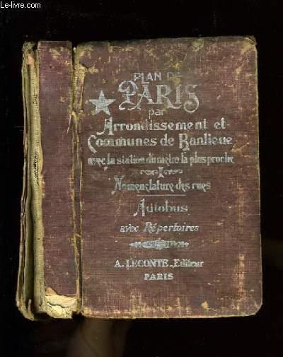 GUIDE INDIACTEUR DES RUES DE PARIS AVEC STATIONS DU METROPOLITAIN LES PLUS PROCHES.