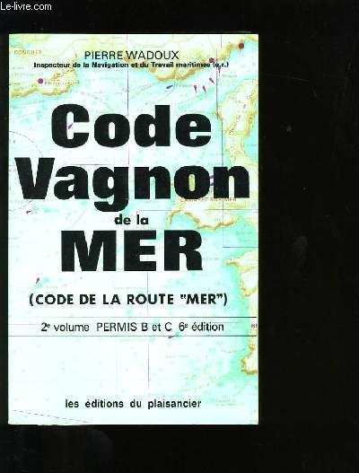 CODE VAGNON DE LA MER.