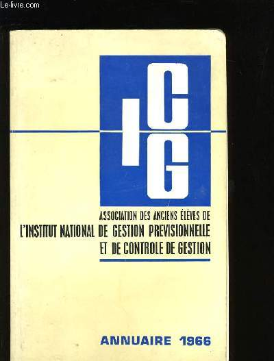 ICG. ANUAIRE 1966