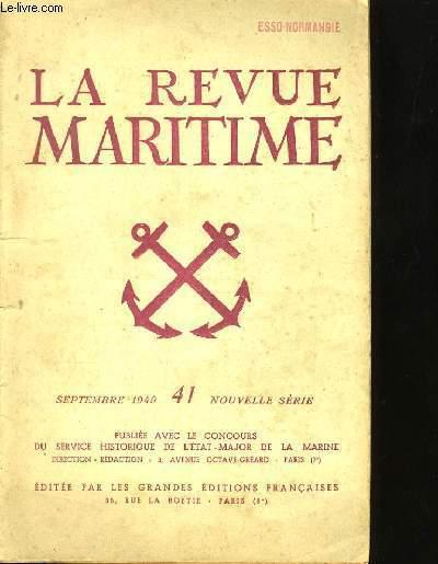LA REVUE MARITIME N°41.