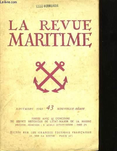 LA REVUE MARITIME N°43.
