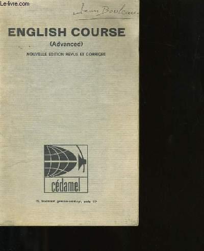 ENGLISH COURSE.