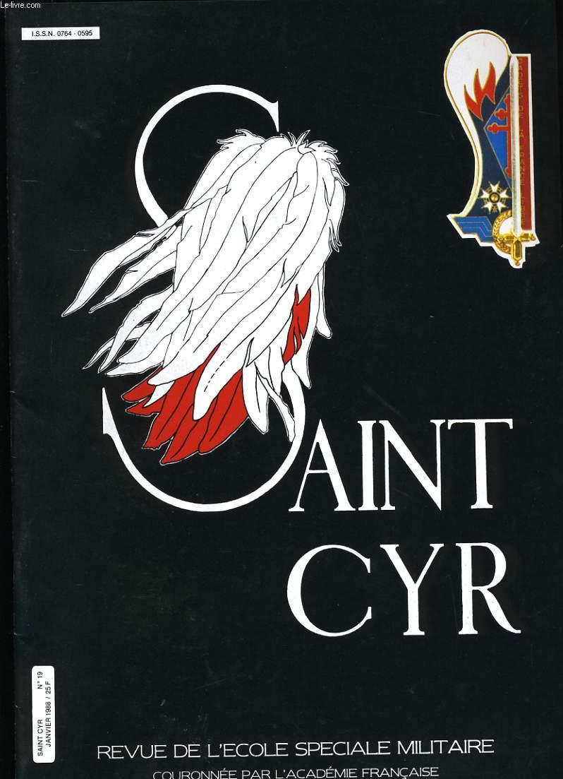SAINT CYR N° 19.