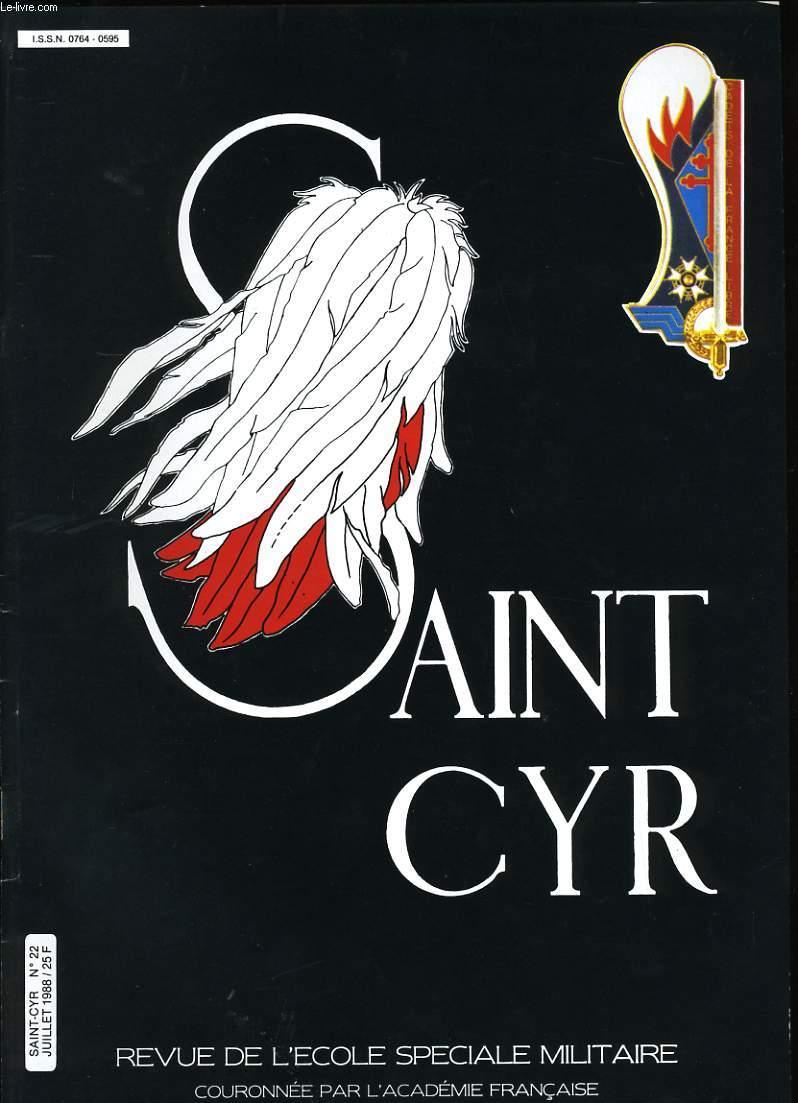 SAINT CYR N° 22.