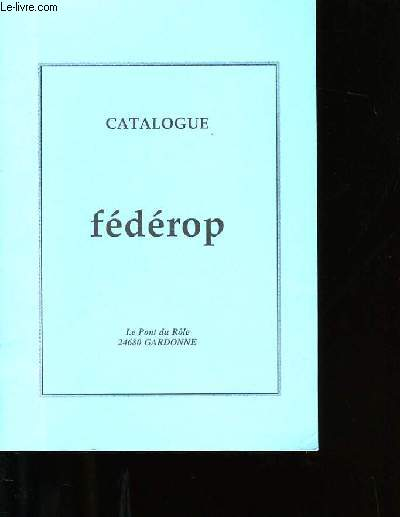CATALOGUE FEDEROP.