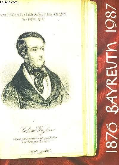 BAYREUTH 1876-1987.