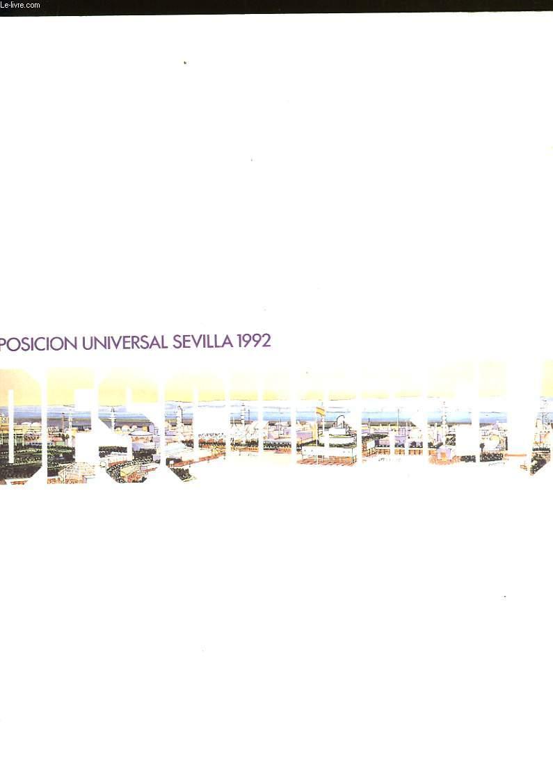 EXPOSICION UNIVERSAL SEVILLA 1992. DESCUBRELA.