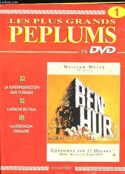 LES PLUS GRANDS PEPLUMS N° 1. SANS LE DVD.