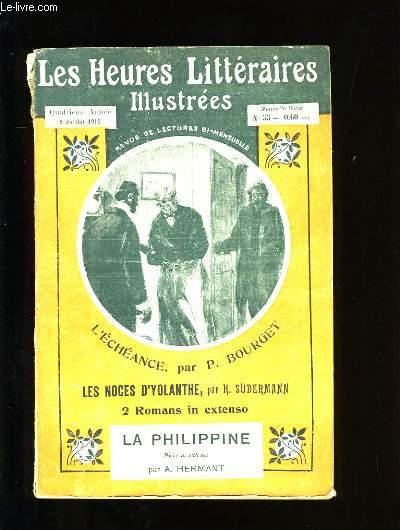 LES HEURES LITTERAIRES ILLUSTREES. N°55.