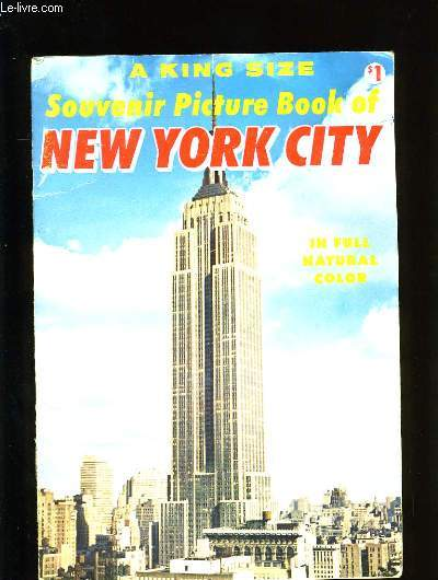SOUVENIR PICTURE BOOK OF NEW YORK CITY.