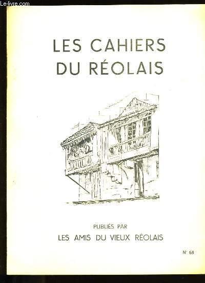LES CAHIERS DU REOLAIS N° 63.