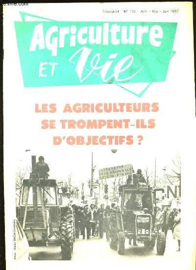 AGRICULTURE ET VIE. N°140.