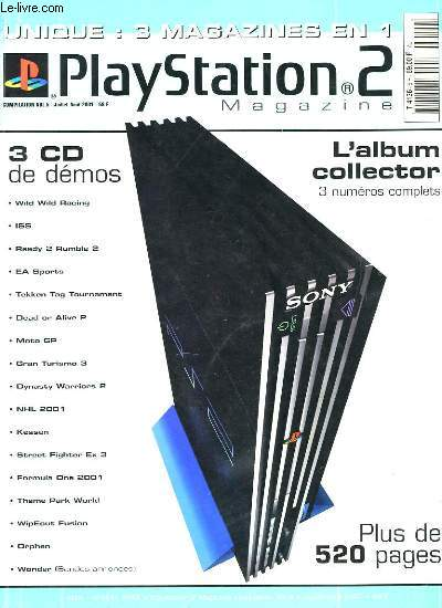 PLAYSTATION 2 MAGAZINE. SANS LES CD DE DEMOS.