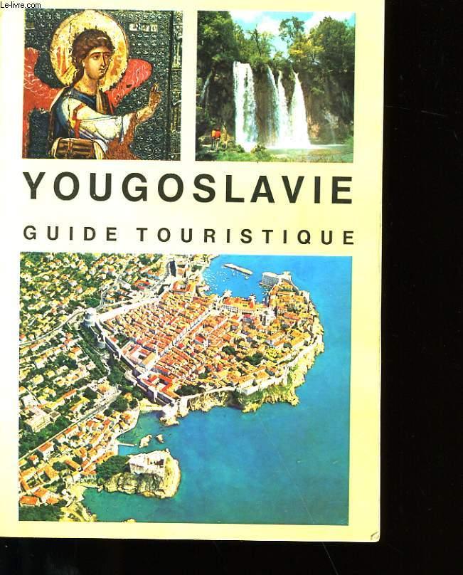 YOUGOSLAVIE GUIDE TOURISTIQUE.