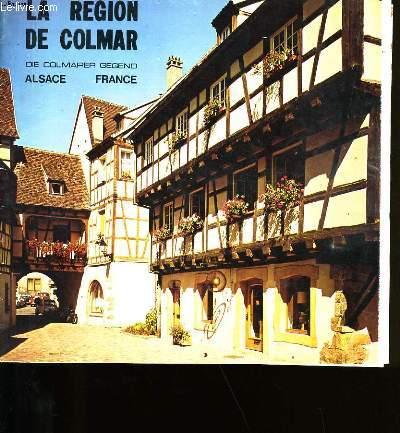 LA REGION DE COLMAR.