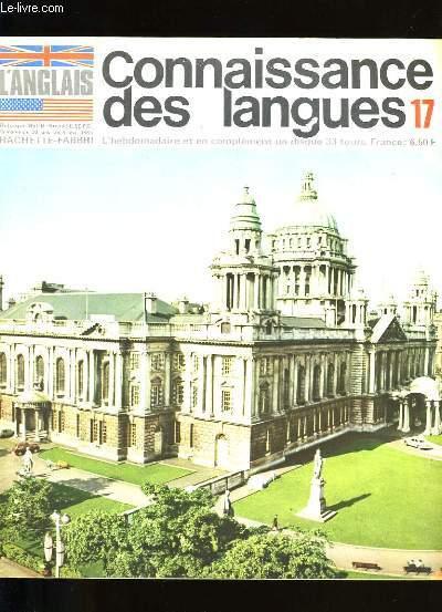 CONNAISSANCE DES LANGUES N °  17.