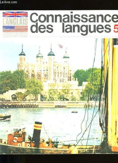 CONNAISSANCE DES LANGUES N °  5.