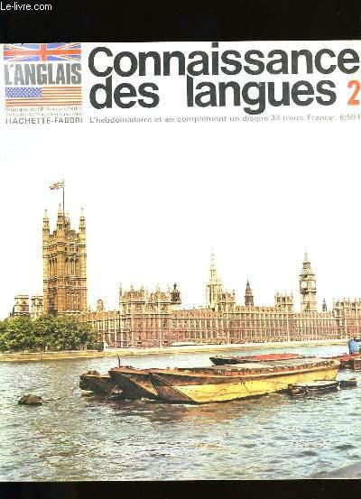 CONNAISSANCE DES LANGUES N °  2.