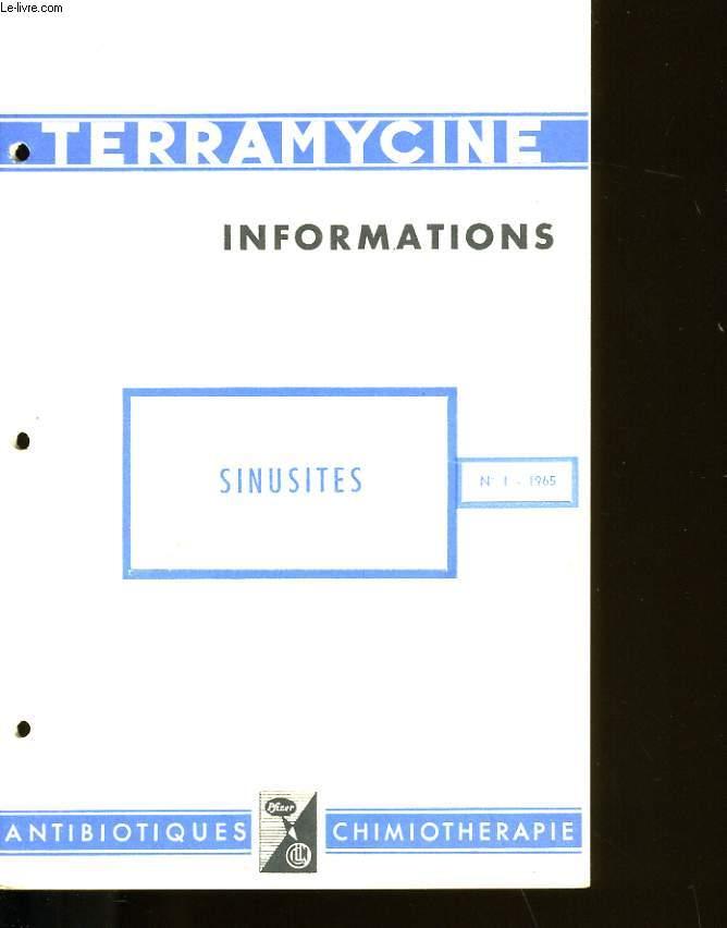 TERRAMYCINE INFORMATIONS. N° 1.