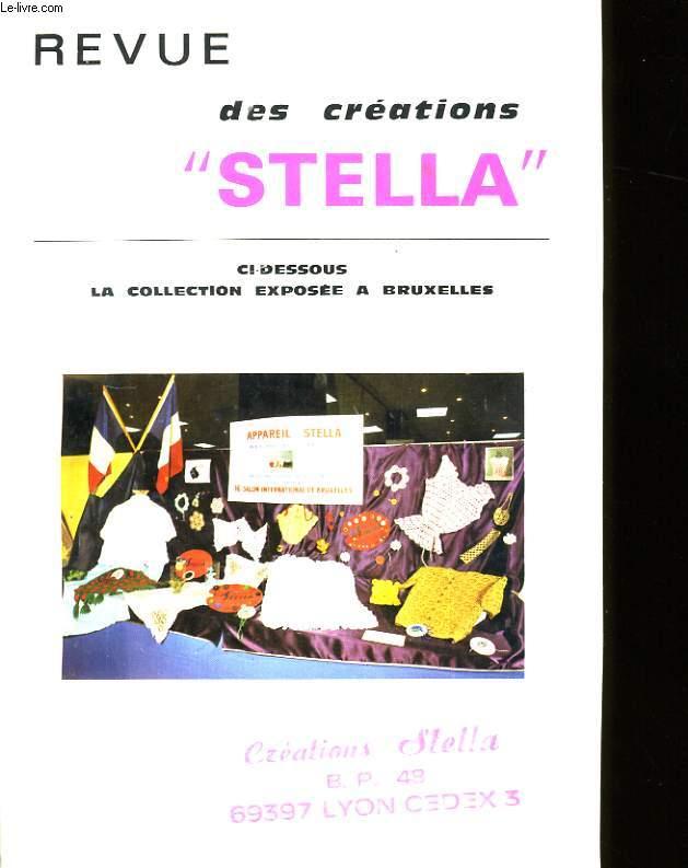 REVUE DES CREATIONS STELLA.