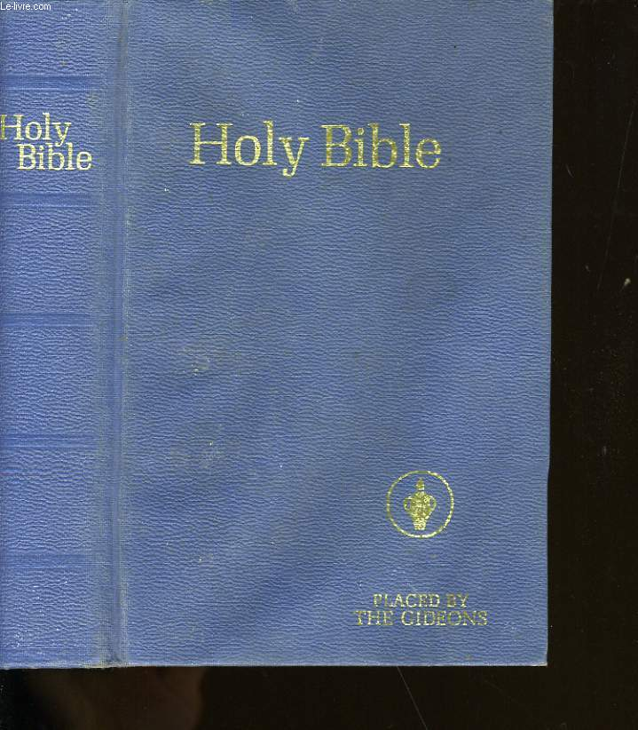 HOLY BIBLE.