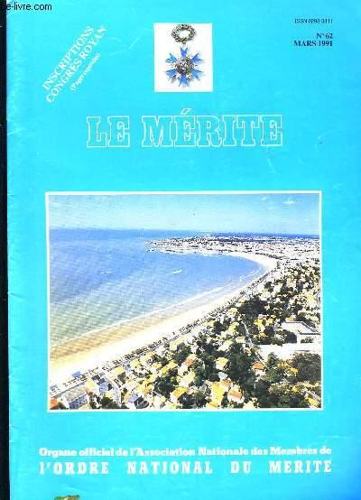 LE MERITE N° 62.